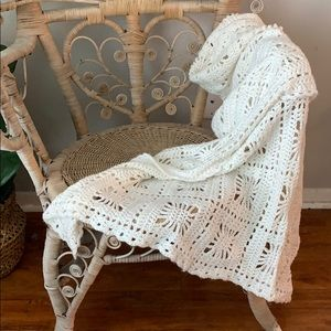 Gorgeous handmade nursery blanket